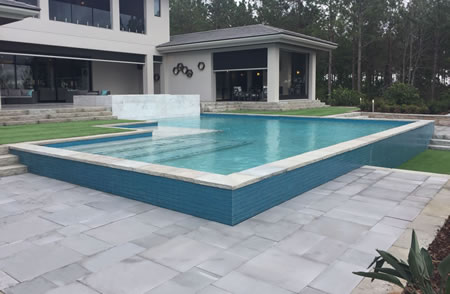 Promenade Pool Coping